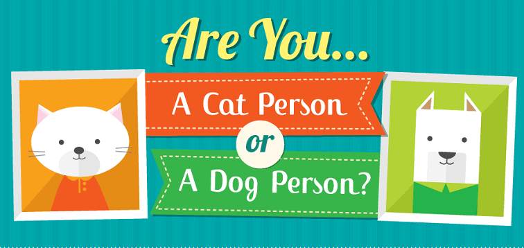 Are you a cat person or a dog person? Ever wondered which pet would be the perfect match for you? Read this infographic to find out.